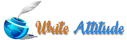 write attitude logo - handwriting courses in pune